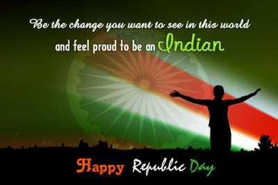 Happy Republic Day Wishes Greetings Pictures in English 2017