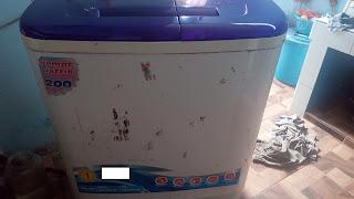 mesin cuci 2 tabung mampet