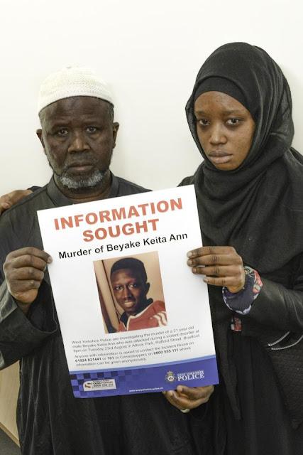 Sister makes emotional plea over Beyake Keita Ann's brutal murder in Attock Park, Bradford