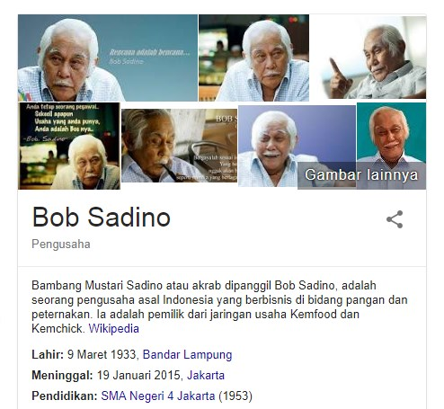 18 Fakta Menarik Tentang Bob Sadino Seorang pengusaha sukses yang menginspirasi