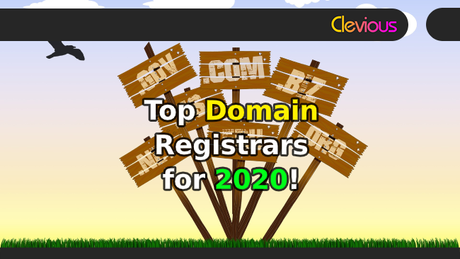 Top 14 Domain Registrars for 2020! - Clevious