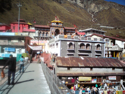 Badri Vishal Temple In the Garhwal Himalayas