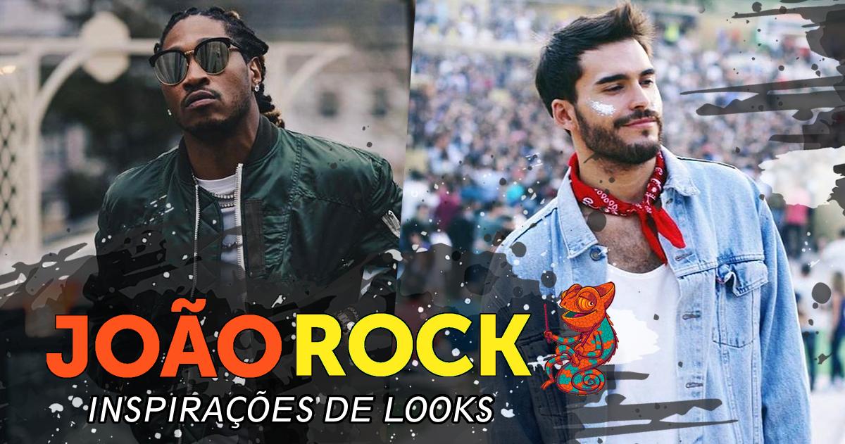 João Rock - Looks Masculinos Festival