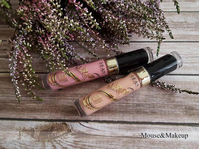 Hean Luxury Matte Lipstick nr 02 Tiramisu oraz nr 03 Silky Rouge