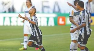 Ceará vence o Tupi e assume a 8ª colocação