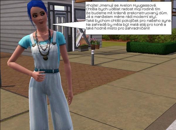 Sims 3 profesorka univerzitního života
