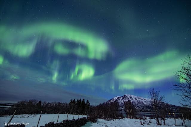 Aurora Boreal en Engeloya, Noruega Ártica por El Guisante Verde Project