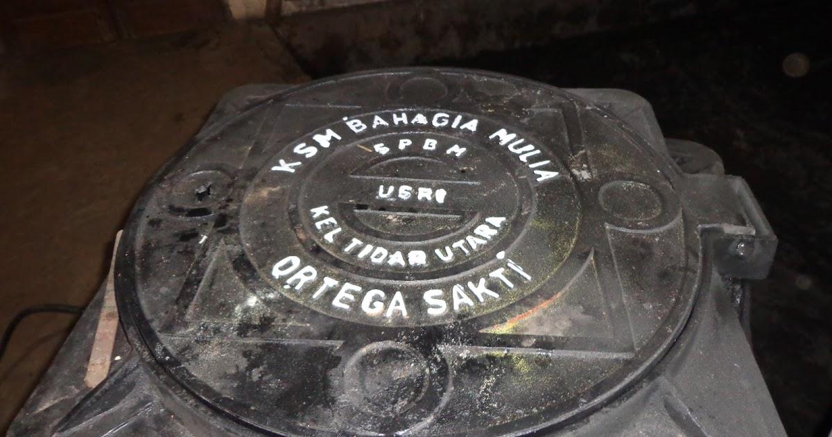Mainhole Dan Grill Tutup Saluran Air Limbah