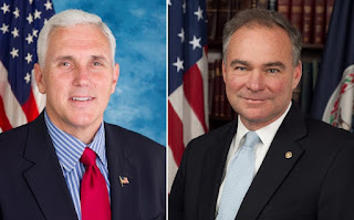 Pro-life Mike Pence versus Pro-abortion Tim Kaine