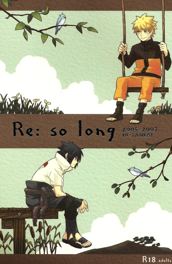 Hình ảnh  NaruSasu4ever %2525252013%25252520Year old%25252520Report cover in Naruto Doujinshi - White paper
