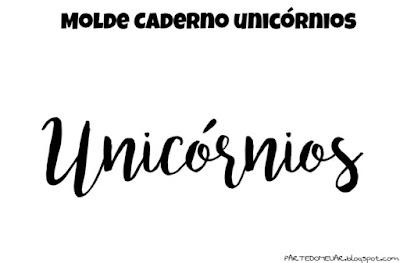 molde unicornio