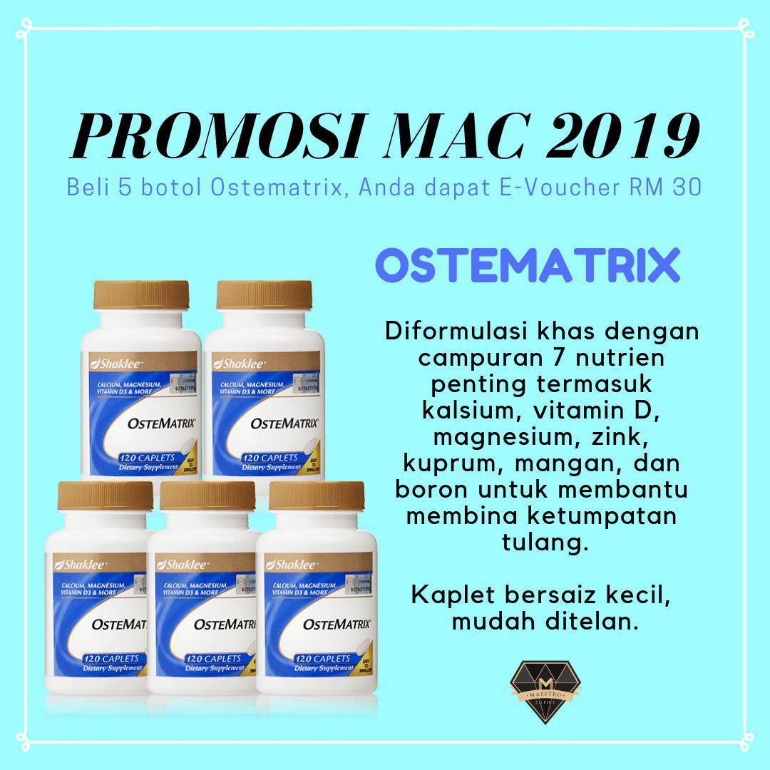 promosi shaklee mac 2019