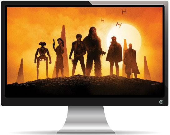 Solo a Star Wars Story Personnages Crépuscule - Fond d'Écran en Full HD 1080p