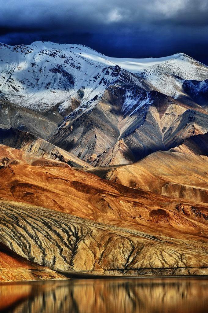10 Best Backpacking Destinations in India | Tsomoriri Wetland Conservation Reserve, Ladakh
