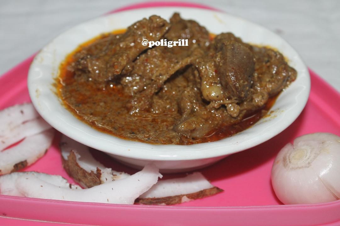 Poligrill Chicken Xacuti Authentic Goanese Chicken Dish