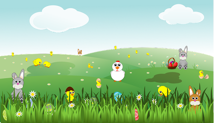 easter vector free download