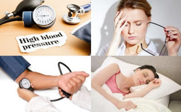 Symptoms of Hypertension or high blood and its treatment