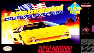 Lamborghini: American Challenge (BR) [ SNES ]