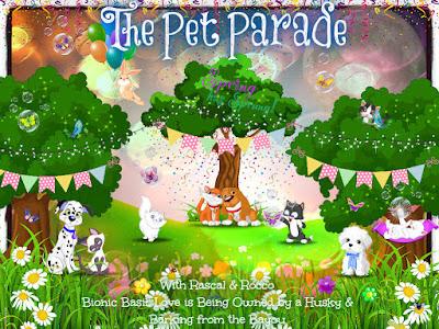 Pet Parade Spring banner