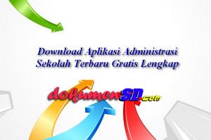 Download Aplikasi Administrasi Sekolah Terbaru Gratis Lengkap