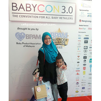 Ibuencer award 2018, Motherhood Star, Parenting Blogger, baby fest, Baby Fest 2018, coby haus, Nuby Malaysia, bnb korea, Simple Dimple Bag, simple dimple, philips avent