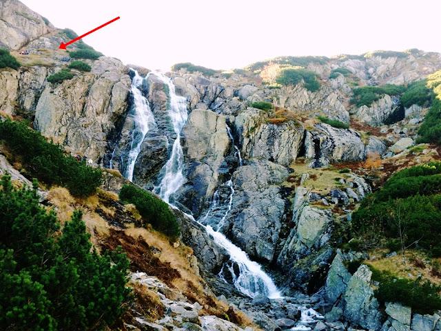 Dolina Pięciu Stawów Siklawa