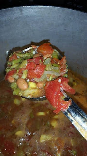 Ramblings Thoughts Cold Day Minestrone Soup