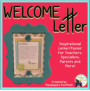 https://www.teacherspayteachers.com/Product/Inspirational-Letter-Poster-Teacher-and-Student-Welcome-Note-2028134