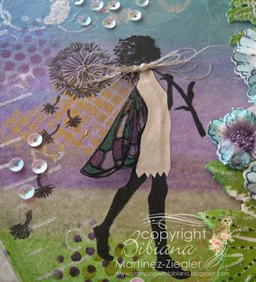 gift box fairy stamp lavinia