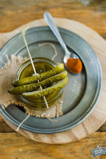 Ogórki chili przepis