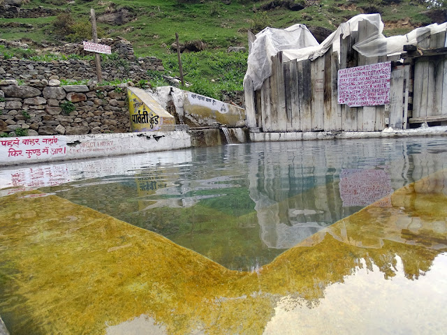 Natural Hot Water Springs at Khir Ganga