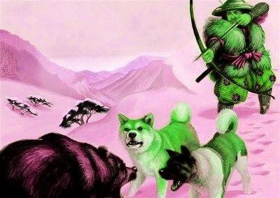 historia del perro Akita