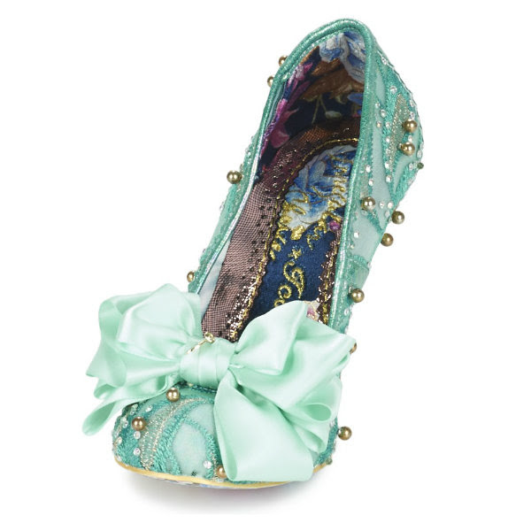 irregular choice mint ascot shoes ss17