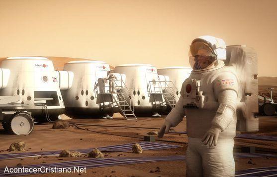 Viaje de humanos al planeta Marte