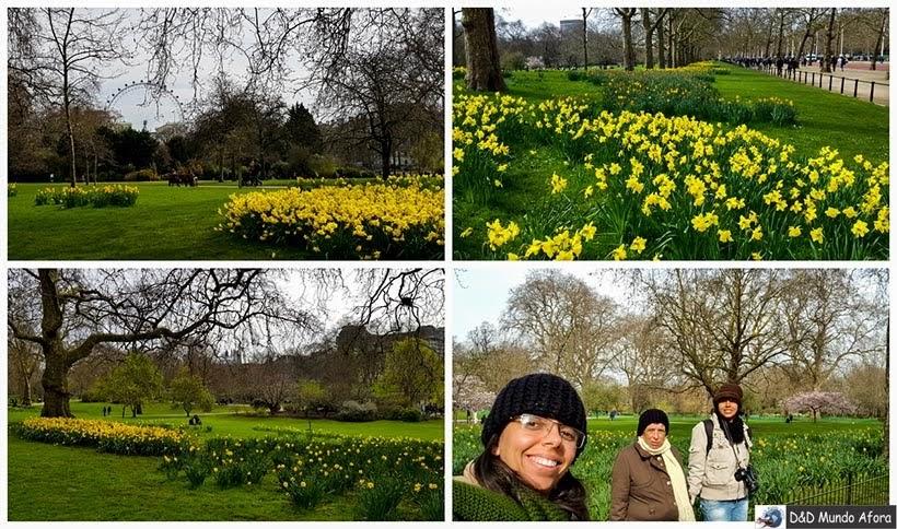 Diário de Bordo - 5 dias em Londres - Parque St. Jaimes