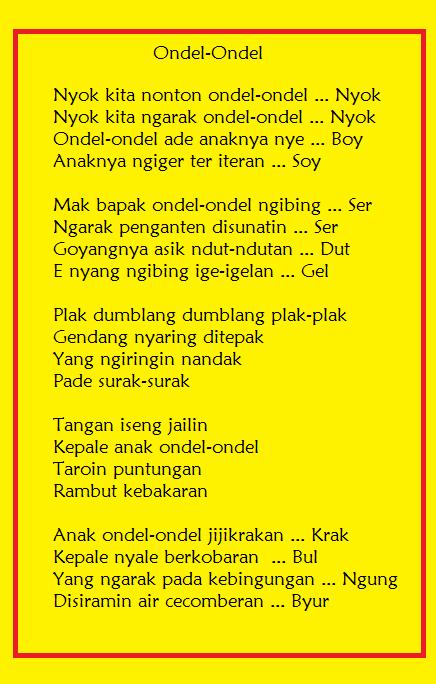 Pie Family Anak Ondel Ondel