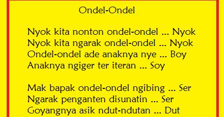 Baby Emir Journey Anak Ondel Ondel