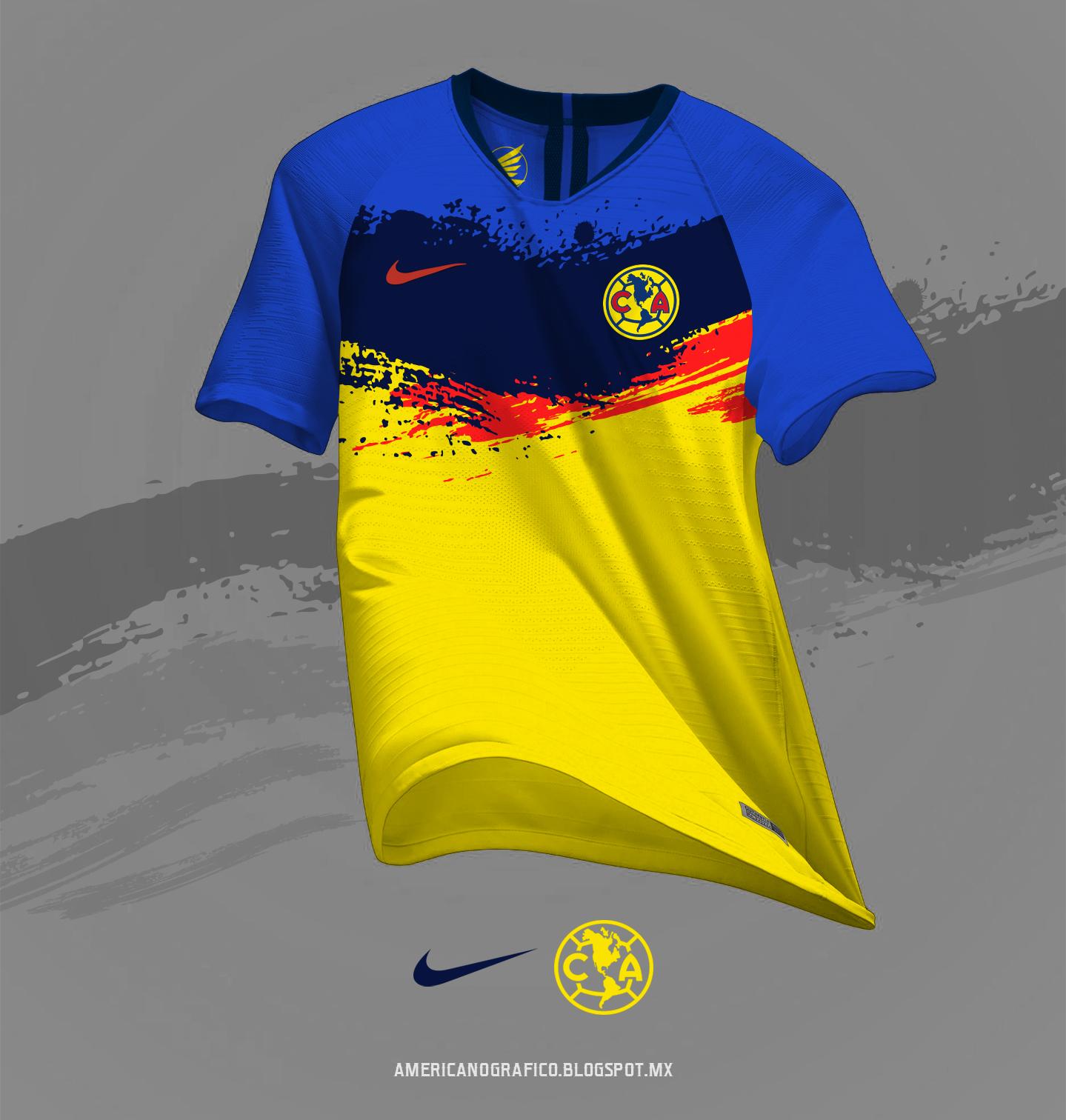 huge discount bacf7 ce090 AMERICAnografico: Jersey Club América #Nike Mod.220818
