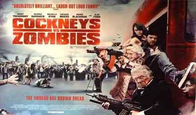 Cockneys vs Zombies otra de Zombies con toques de comedia costumbrista