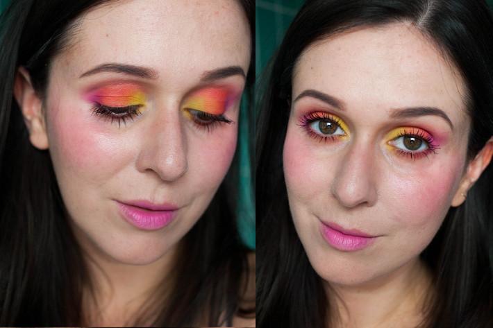 rainbow eyemakeup