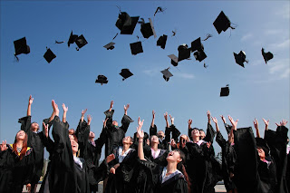 Picture of students graduating