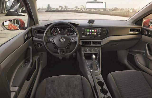 novo Polo 2019 1.6 Automático - interior