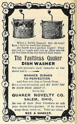 The Faultless Quaker Dish Washer