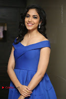 Actress Ritu Varma Pos in Blue Short Dress at Keshava Telugu Movie Audio Launch .COM 0055.jpg