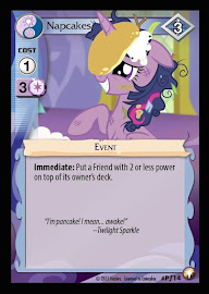 My Little Pony Napcakes Equestrian Odysseys CCG Card