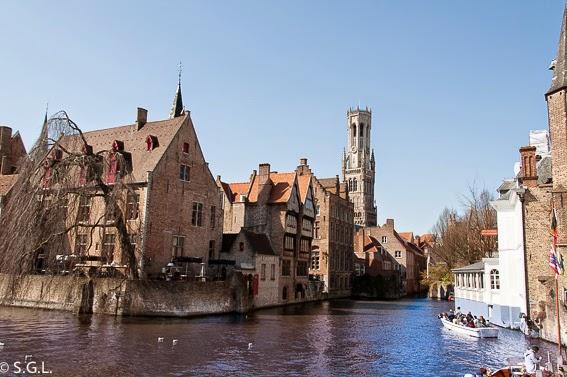 Un dia en Brujas en Belgica