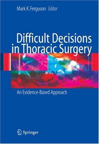 Những Quyết định Khó trong Phẫu thuật Lồng ngực 2e