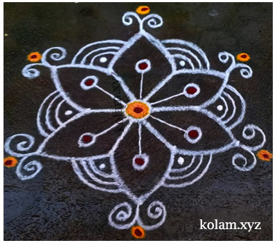 simple kolam image