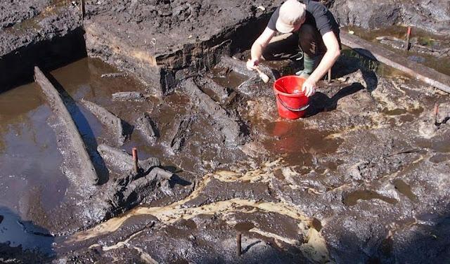 Los investigadores descubrieron un número significativo de artículos durante las excavaciones.