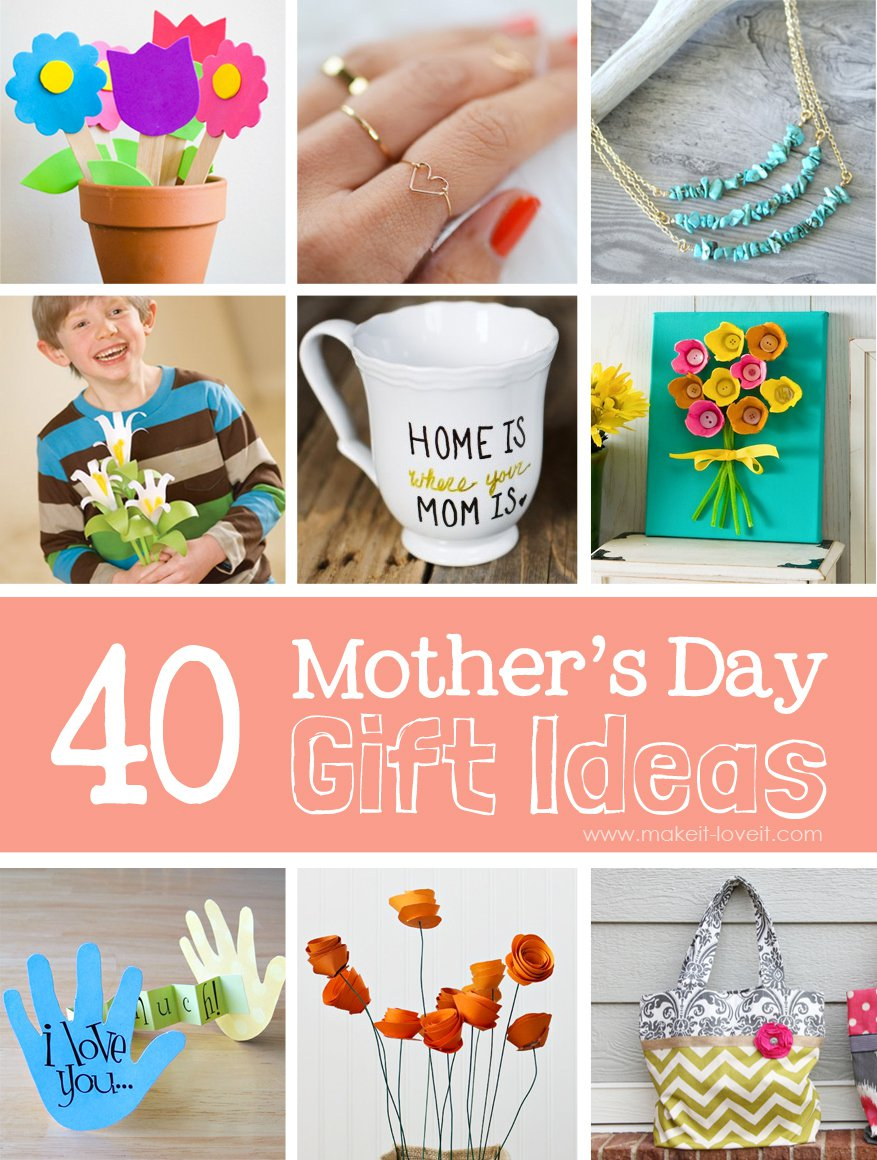 Mothers Day Gift Ideas & Presents 2017